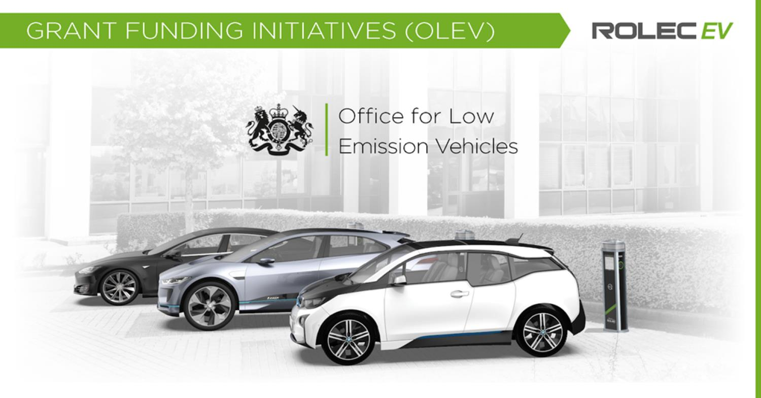 EV Charging Point OLEV Grant Funding in Carlisle, Cumbria